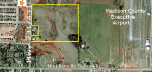 Aerial Meridianville land copy