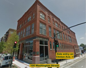 Pic of front of building 100 Wash